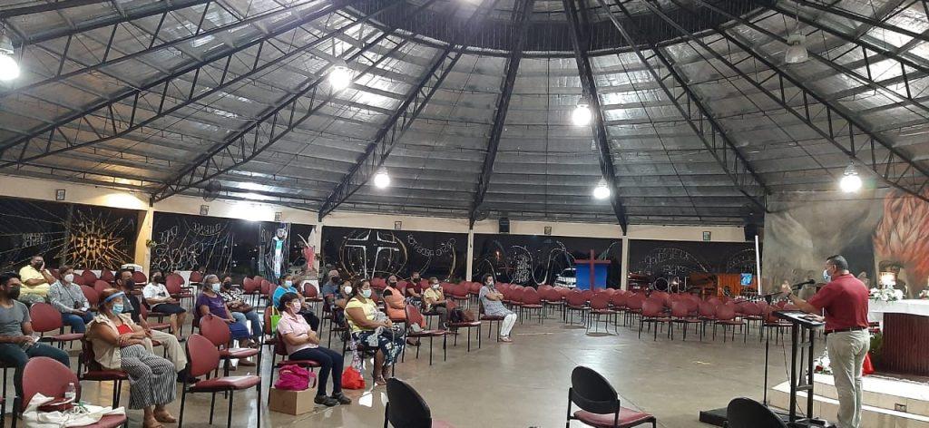 Asamblea de Oración en la Parroquia Cristo Redentor en San Miguelito (1)