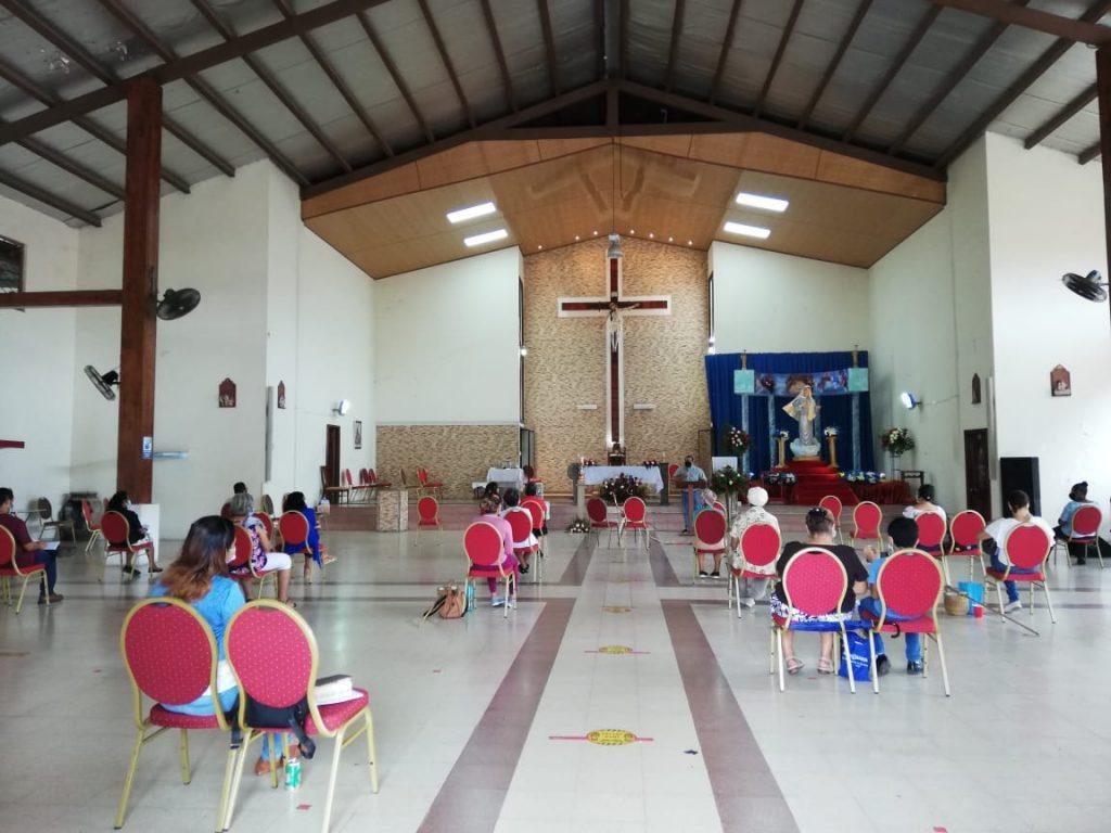 Seminario de Iniciación de Vida en el Espíritu, Parroquia María Reina de La Paz. (1)